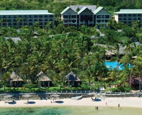 Outrigger Fiji Beach Resort - Aerial