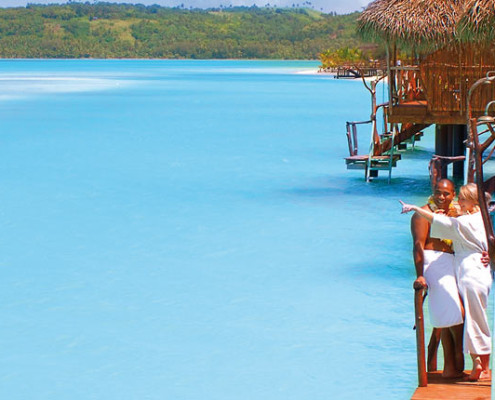 Aitutaki Lagoon Resort & Spa, Cook Islands - Overwater