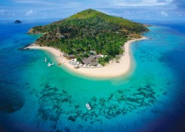 Castaway Island Fiji - Aerial