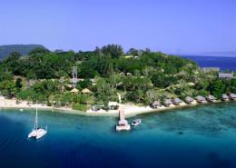 Iririki Island Resort, Vanuatu - Aerial
