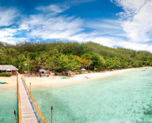 Malolo Island Resort, Fiji - Looking onto shore