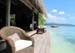 Ratua Island Resort & Spa, Vanuatu - Fish Village Lounge View