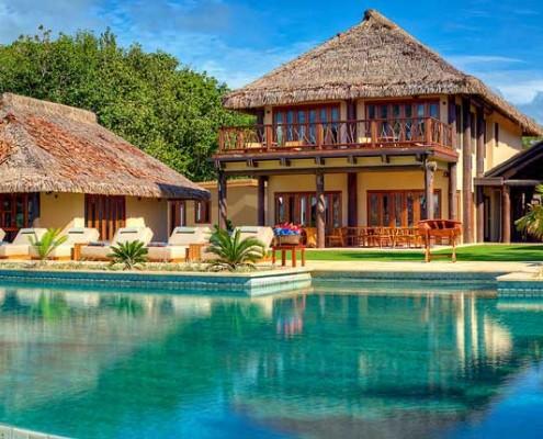Nanuku Resort, Fiji - Pool & Accommodation