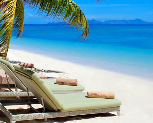 Vomo Island Fiji - Beachfront